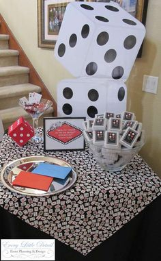 Casino Birthday Birthday Party Ideas | Photo 1 of 26 | Catch My Party