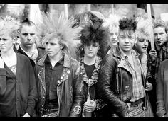 Cyndi Lauper's stlye launched an epidemic of punk fashion. Spiked hair and studded leather was in its prime in this decade.