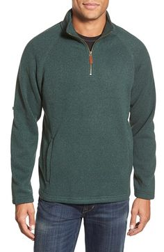 Vineyard Vines 'Harbour Island' Knit Quarter Zip Pullover available at #Nordstrom