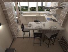 Дизайн квартира площадью 45 кв. м - Дизайн интерьеров   Идеи вашего дома   Lodgers