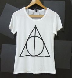 Deathly Hallows logo Harry Potter tshirt clothing by CuteClassic, $13.00