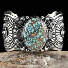 *Turquoise Cuff (by Navajo Silversmith Darrell Cadman)