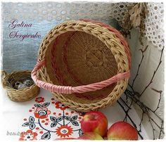 Поделка изделие Плетение Моё плетение Март Трубочки бумажные фото 2