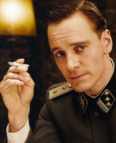Inglorious Basterds-Michael Fassbender - go ahead and speak German all day long! Yum!