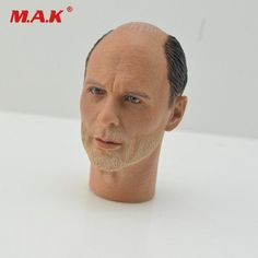 "1:6 WW II German Colonel Corning Head Sculpt Head Carving F 12/"" Action Figure"