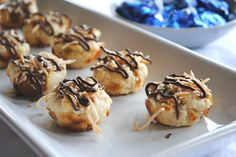 Caramel Coconut Kiss Cookies - Shugary Sweets