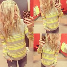 T A R G E T does it again stripe sweater $19.99