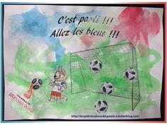 Bricolage enfants pour la coupe du monde de foot. Et c'est parti pour le foot ;)
