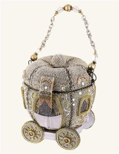Mary Frances Cinderella's Carriage Handbag - I always thought carrying a handbag must be a real PITA ... but if they could all look like this, they might be fun!