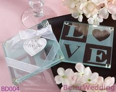 Shanghai Beter Gifts BD004 Love Glass Coaster Sets        http://item.taobao.com/item.htm?id=44427095235 #coaster #weddingideas #giftideas #shanghaiwedding #weddingshanghai #weddingdecoration #partyideas #beterwedding    #partysupplies