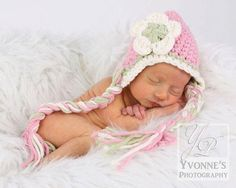 Bulky Earflap Beanie by TinyTotTopper on Etsy, $20.00