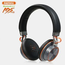 53e857a3680 New Fashion Remax Bluetooth BT Deep Bass Headphone Wireless Stereo Headset  With Mic For Laptop iPhone Cell Phone iPad