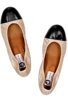 Lanvin Leather ballerina flats