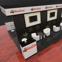 3D Design Concept For Exhibition Stand