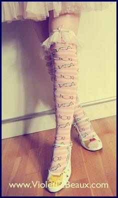 Elastic Sock Topper Tutorial