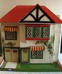GeeBee dolls house with garage. .....Rick Maccione-Dollhouse Builder www.dollhousemansions.com