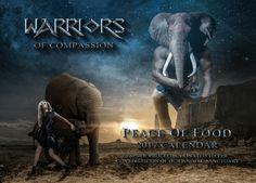 Warriors of Compassion animal rights calendar available now @ https://www.kickstarter.com/projects/warriorsofcompassion/animal-rights-comic-t-shirts-calendar?ref=user_menu
