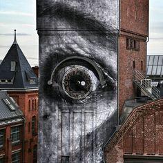 JR activist and street artist was in Berlin...