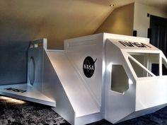 #nasa #spacestation #spacerocket #rocketbed #spaceshipbed #spacekids #astronaut #wannabe #design #interiors #interiordesign #newbuild #extension #property #extenddontmove