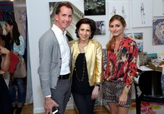 Kevin Sharkey, Martha Stewart Weddings editorial director and celebrations expert Darcy Miller and Olivia Palermo attend Shutterfly By Design hosted by Olivia Palermo, Brit Morin and Michelle Workman on June 25, 2014 in New York City.