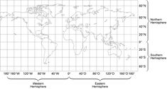 Longitude And Latitude Science 6 At FMS New World Map Coordinates - downtr. Blank World Map, New World Map, Disney World Map, Cool World Map, World Map Latitude, Latitude And Longitude Coordinates, Interactive World Map, Map Coordinates, Geography