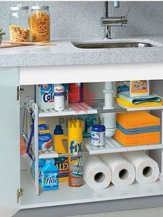 30 Awesome Small Kitchen Storage Ideas 30 Awesome Small Kitchen Storage Ideas - If you're looking for a solution to meet a problem and have found this discussion by searching for Kitchen Organization Pantry, Kitchen Storage Solutions, Diy Kitchen Storage, Diy Storage, Home Organization, Storage Ideas, Drawer Storage, Food Storage, Wall Storage