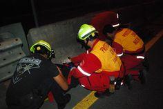 Casco EOM Amarillo Brillante al servicio de los Profesionales de Protección Civil Santiago, Nuevo León.  EMS Mexico | Equipando a los Profesionales