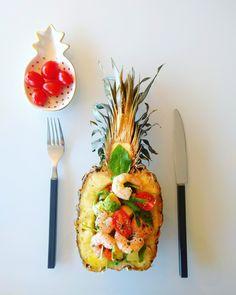 Envie d'exotisme ? Cette SALADE TROPICALE est faite pour toi :) RECETTE sur Fourchette & Santé