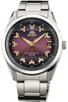 Orient Watch Estándar Neo Solar Radio Rojo Hombres F/S con / Nocturne, Judo, Rolex Watches, Watches For Men, Wrist Watches, Orient Watch, Radio Wave, Japan News, Elegant Watches