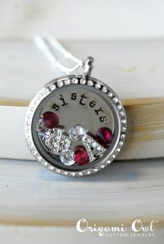 Sorority sister gift idea... Personalize your own locket