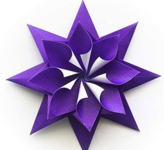 Origami per bambini - Origami a stella