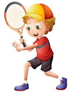 "Photo from album ""Теннис"" on Yandex. Cartoon Clip, Cartoon Images, Cartoon Boy, Student Cartoon, Theme Sport, What Is Digital, School Clipart, Cute Little Boys, Business Plan Template"