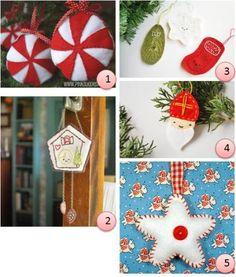 Patterns and tutes: Christmas ornaments · Needlework News | CraftGossip.com