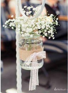 .tarro con flores
