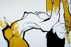 Ainhoa Azumendi. Illustrator. Yellow. Ilustración.