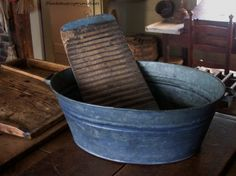 Some of my favorite things: Old painted tin wash bucket Scrub Board Old Washing Machine, Washing Machines, Primitive Laundry Rooms, Everything Country, Wash Tubs, Home Pictures, Clothes Line, Mortar And Pestle, Barrels
