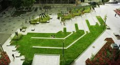 James Square at McGill University in Montreal by WAA Landscape Architects