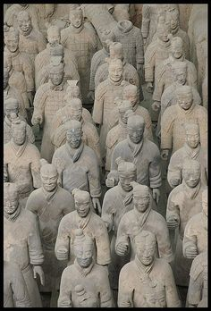 Terracotta army, Shaanxi, China