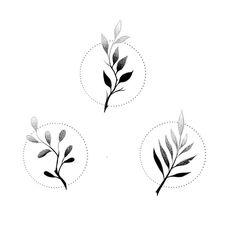 New Ideas geometric nature tattoo leaves Mini Tattoos, Cute Tattoos, Flower Tattoos, Body Art Tattoos, Tattoos For Guys, Bow Tattoos, Leaf Tattoos, Sleeve Tattoos, Lotusblume Tattoo