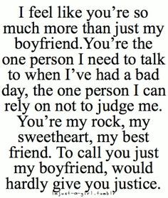 49 Cute Boyfriend Quotes For Him Respect Pinterest Love Quotes