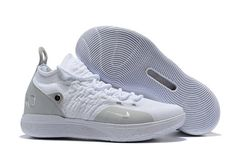 3fe05b9a6be6 Nike KD 11 White Grey Chrome Pure Platinum For Sale