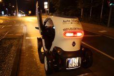 Renault Twizy im Alltag: Fußball – Autokorso mit dem Elektromobil!