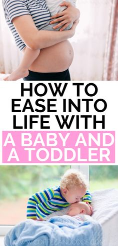 11 tips for juggling a baby and a toddler. Things you can do to prepare for baby number two. How to simplify life with a baby and a toddler. Tips for bringing home baby number two. care tips newborns parenting Second Baby, 2nd Baby, Baby Number 2, Preparing For Baby, After Baby, Everything Baby, Baby Hacks, Baby Tips, Baby Sleep