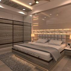 Bedroom interior design Bedroom False Ceiling Design, Room Design Bedroom, Luxury Bedroom Design, Bedroom Furniture Design, Home Room Design, Small Room Bedroom, Wardrobe Interior Design, Wardrobe Door Designs, Wardrobe Design Bedroom