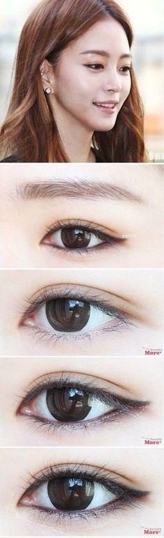 วิธีแต่งตา Natural Look