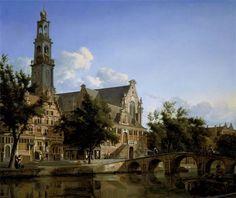 Jan van der Heyden (1637-1712), View of the Westerkerk, Amsterdam, c. 1667-70