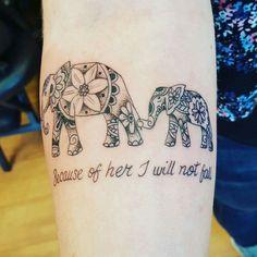 Tattoo for my mum ❤ #ad