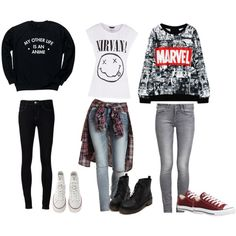 Designer Clothes, Shoes & Bags for Women Marvel X, Charlotte Russe, Polyvore Fashion, Converse, Shoe Bag, Stuff To Buy, Outfits, Shopping, Collection