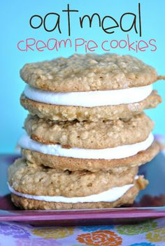 Spice Cookies with Pumpkin Dip. Great for a crowd...makes a lot of cookies and they're really tasty. #cookies #cook #recipes #cake