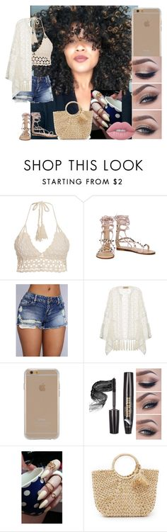 """""""Untitled #134"""" by treacey-pooh on Polyvore featuring Vitamin A, ADRIANA DEGREAS, Agent 18, Hat Attack and Lime Crime"""